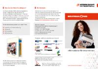 Infoflyer zum Berufswahlpass für Unternehmen