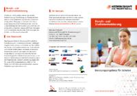 Infoflyer zum Beratungsangebot für Schulen