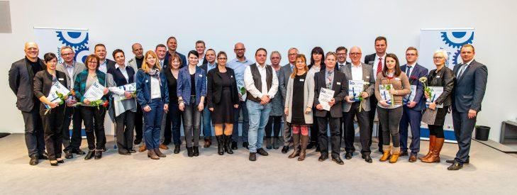 Ausgezeichnete Unternehmen in Potsdam für ihren Beitrag zur Berufs-und Studienorientierung
