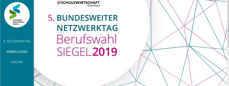5. Berufswahl-SIEGEL Netzwerktag am 24. September 2019 in Berlin