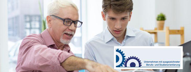 Neue Auszeichnungsrunde für Unternehmen mit ausgezeichneter Berufs- und Studienorientierung