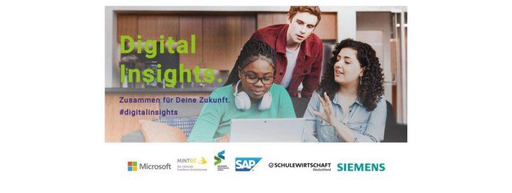 """""""DigitalInsights– Zusammen für deine Zukunft"""" – Digitales Angebot für SIEGEL-Schulen"""