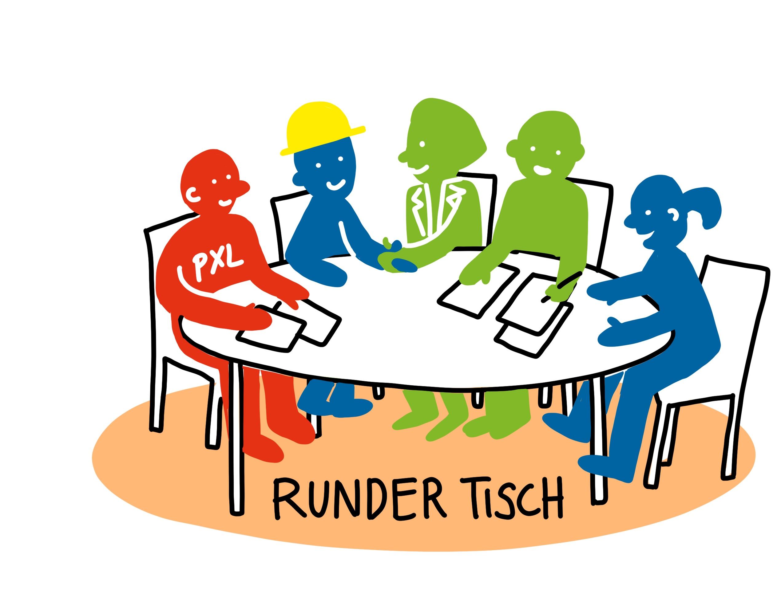 Runder Tisch PXL_Icon